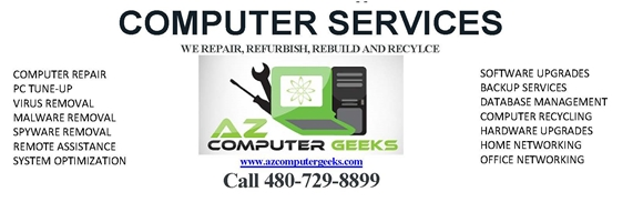 Arizona Computer Geeks: Service, Repair, Sales