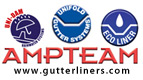 AMPTEAM are specialists in the provision of gutter lining & rainwater management systems.