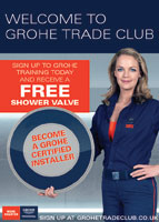 Grohe Trade Club is an exclusive rewards and support scheme for the UK Plumbing Trade