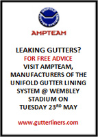 specialists in the provision of gutter lining & rainwater management systems