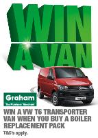 Win a Van 2017 - Graham The Plumbers' Merchant