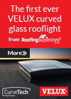 VELUX curved glass rooflights are the latest addition to VELUX's stunning range of rooflights.