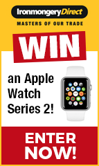 IronmongeryDirect, the UK's largest supplier of ironmongery, are offering Building Products readers the chance to WIN an Apple Watch Series 2!