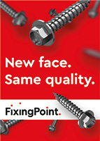 Fixing Point supplies UK and international construction clients with fasteners and components for roofing and cladding.