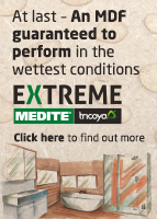 MEDITE TRICOYA EXTREME Durable MDF is a groundbreaking construction material