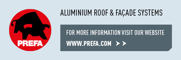 For builders & restorers: Prefa aluminium roofs, facades and complete systems