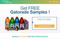 Sign Up Now For Free Gatorade Samples!