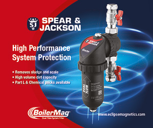 The BoilerMag range of magnetic heating system filters has been designed and developed by the Spear and Jackson Group's specialist magnetics division, ensuring exceptional magnetic performance and quality.
