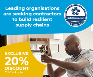 For contractors that want to enhance their reputation for health and safety, SafeContractor, the UK's leading health and safety accreditation, verifies their compliance and connects contractors to leading organisations through an online portal.