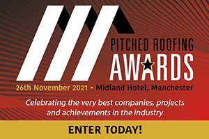 The Pitched Roofing Awards - Enter Today