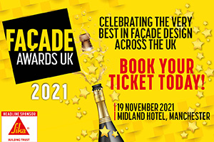 We have had a fantastic response to the Façade Awards UK with a record number of entries received